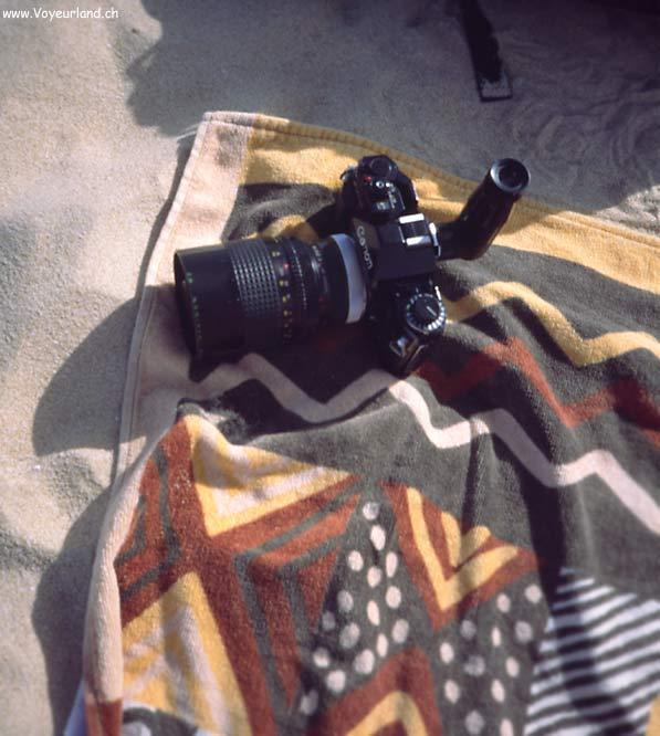 Masterbate am Strand versteckte Kamera