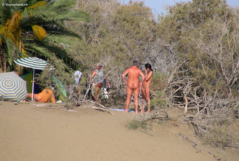 public nudist sex