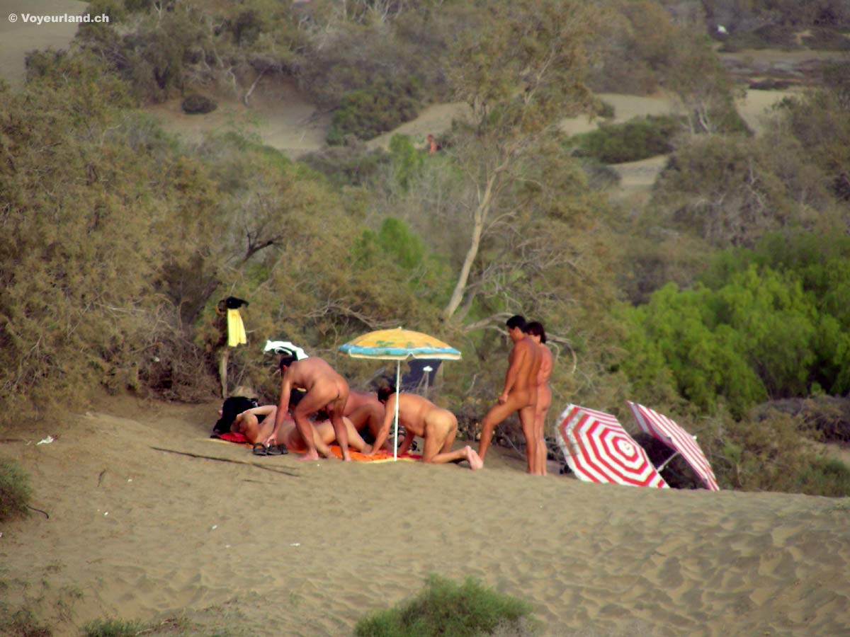 Del ingles playa swinger hängetitten