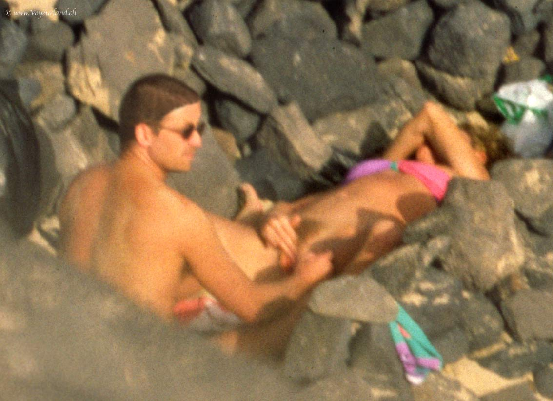 Public sex on beach voyeur