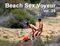 Voyeur strand sex