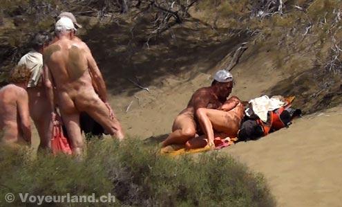public beach sex movies