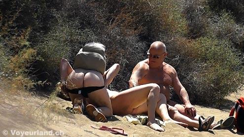 Sex Am Nudistenstrand